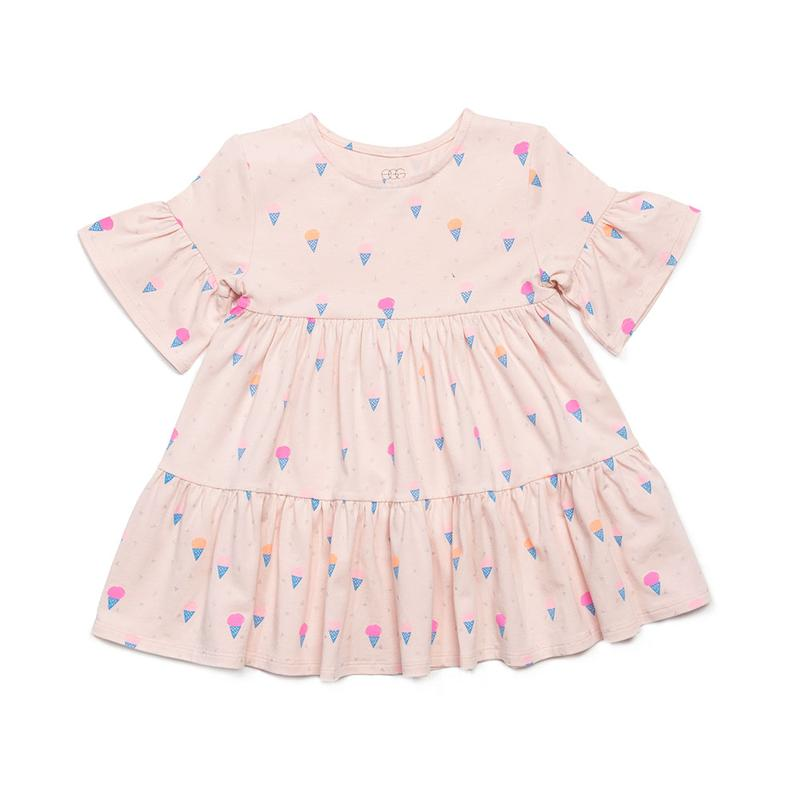 Miranda Dress Blush Ice Cream