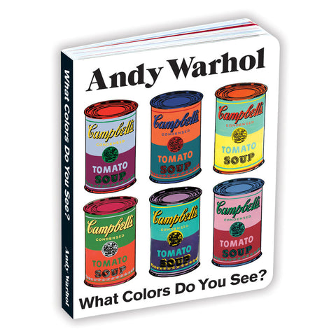Andy Warhol What Colors Do You See