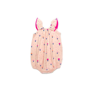 Scarlett Romper Blush Ice Cream