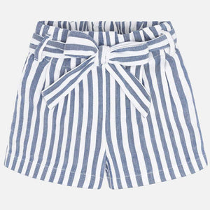 Pleat Stripes Shorts