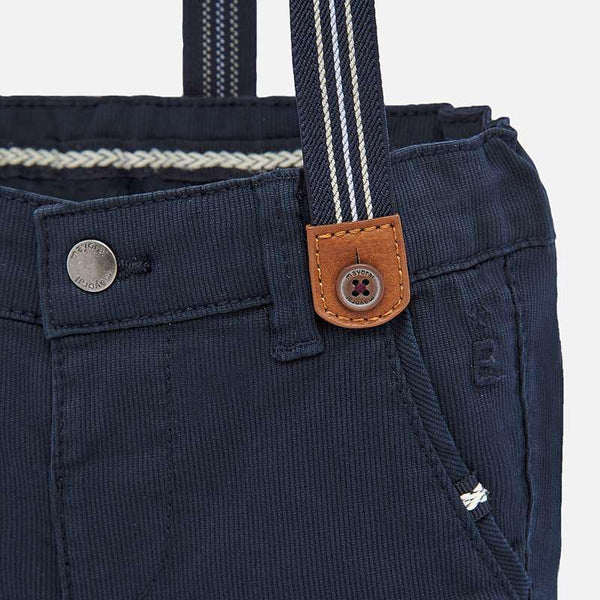Navy Suspender Chinos