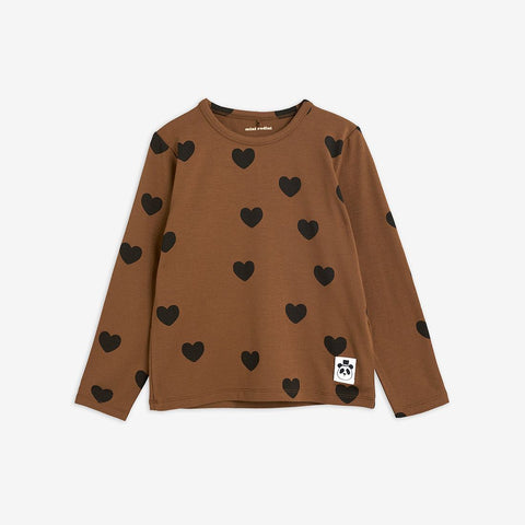 Hearts Grandpa Long Sleeve Tee Baby