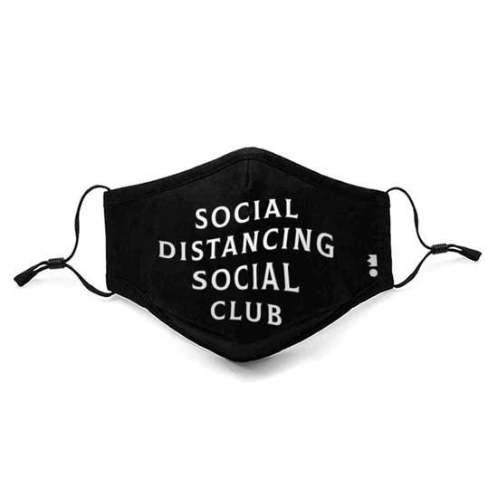 Adult Social Distancing Social Club Mask