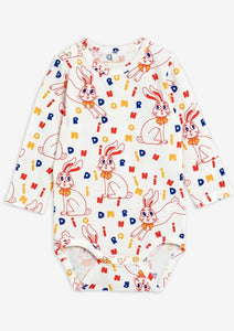 Mr Rabbit L/S Onesie