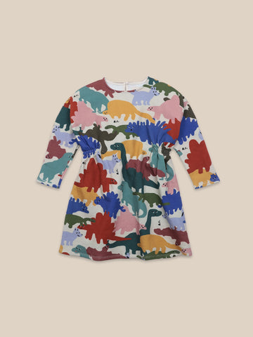 Dinos All Over Fleece Dress