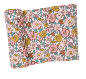 Flower Child Swaddle Blanket