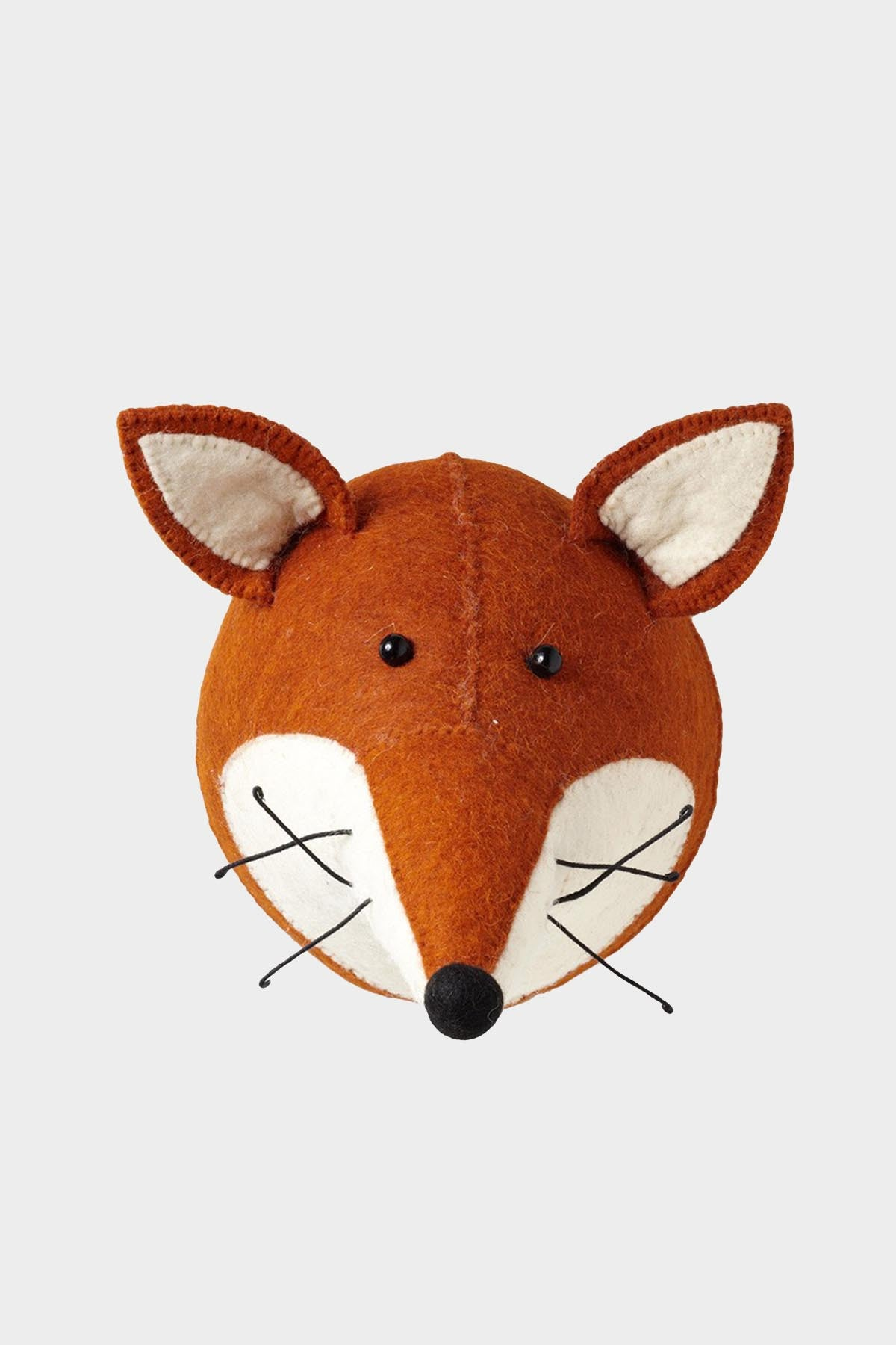Fox Head Wool Mount