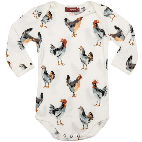 Chicken L/S Onesie