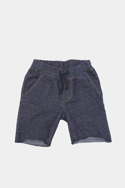Denim French Terry Shorts