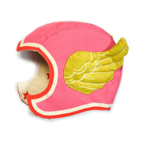 Pink Winged Hat M/L