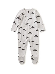 Skunk Footed Romper