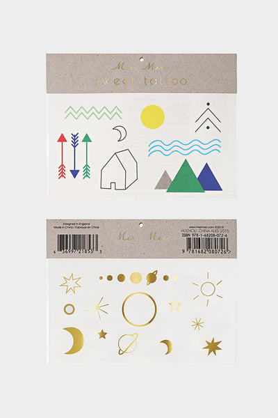 Large Temporary Tattoo Set