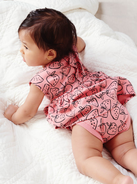 Sweet Sightings Strawberries Baby Dress
