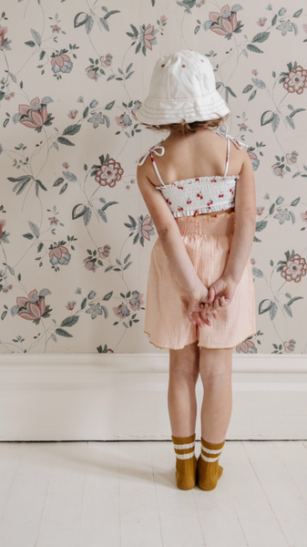 Daisy Fields Smocked Culotte
