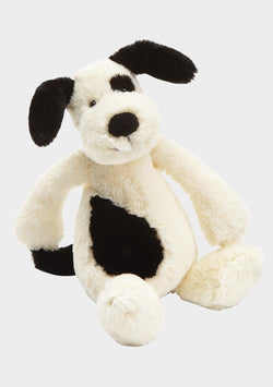 Bashful Black/Cream Puppy Medium