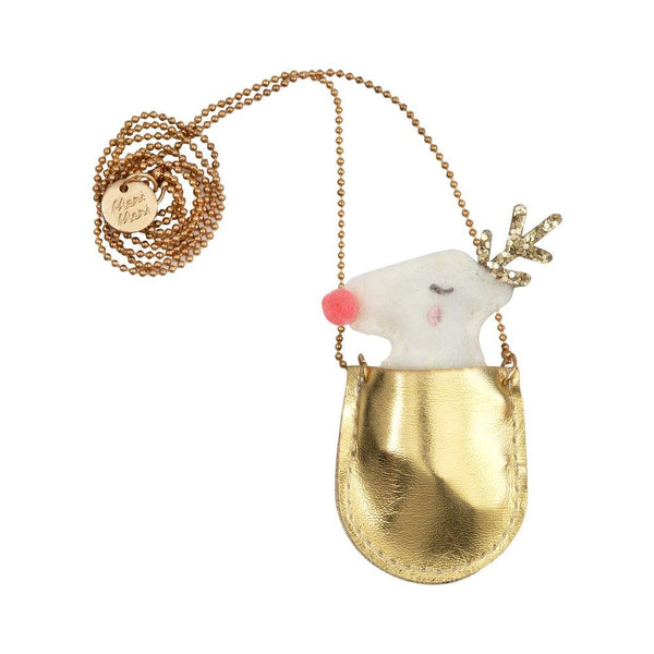 Reindeer Pocket Necklace