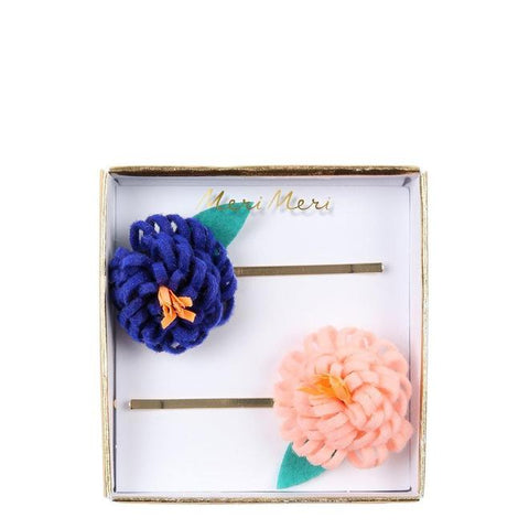 Flower Posy Hair Slides