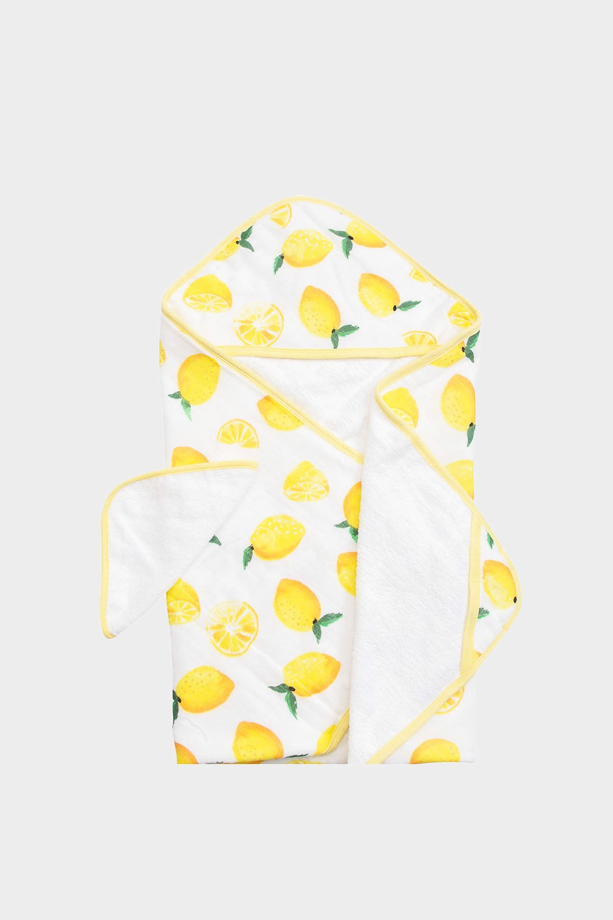 Lemon Hooded Towel & Wash Cloth Set