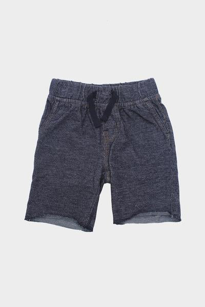 Baby Denim French Terry Shorts