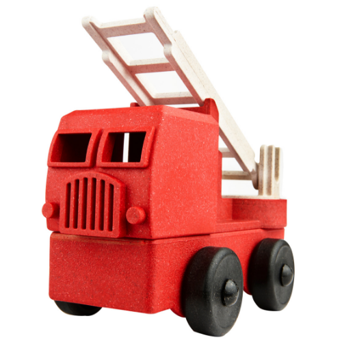 Recycled Wood Fire Truck