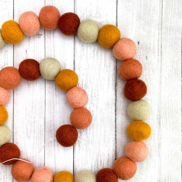 Sunset Wool Garland - Cubshrub