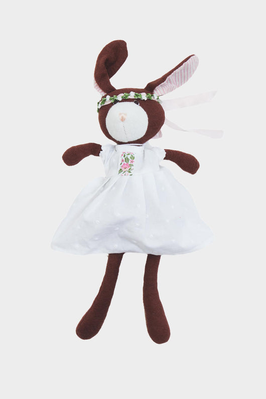 Zoe Rabbit in Spring Dress Outfit