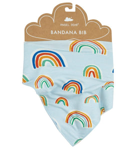 Blue Rainbows Bandana Bib