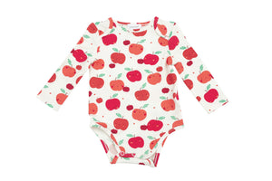 Apple Orchard Lap Shoulder Onesie
