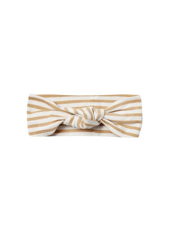Honey Stripe Jersey Baby Turban
