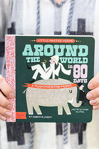 Babylit around the world in 80 days board book