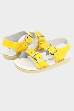 Sea Wees Leather Sandal- Yellow