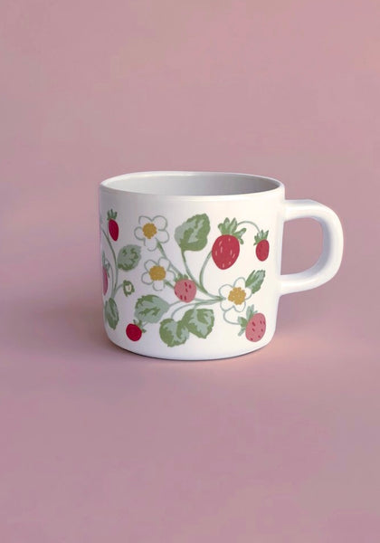 Vintage Strawberry Sippy Cup