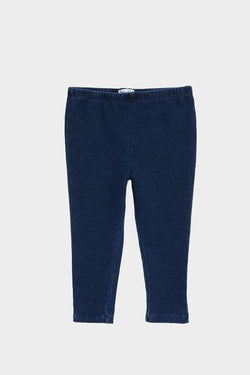 Knit Indigo Leggings