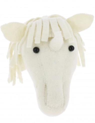 Mini Unicorn Wool Mount