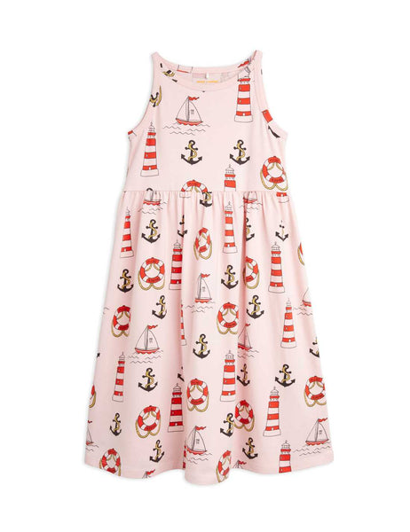 Lighthouse AOP Tank Dress