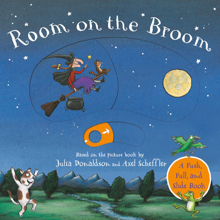 Room on the Broom Push Pull Book