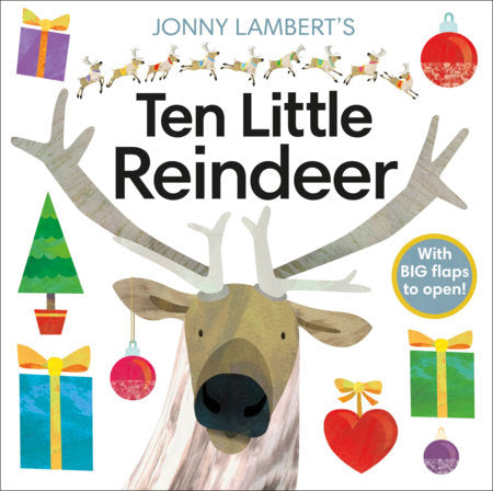 Ten Little Reindeer