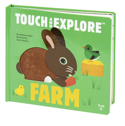 Touch and Explore Farm Board Book