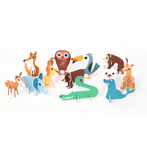 Animal Parade 3D Character Set