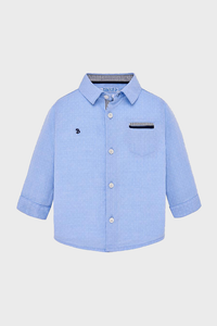 Baby Blue L/S Oxford