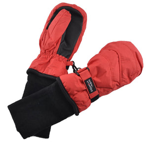 Nylon Mittens - Red