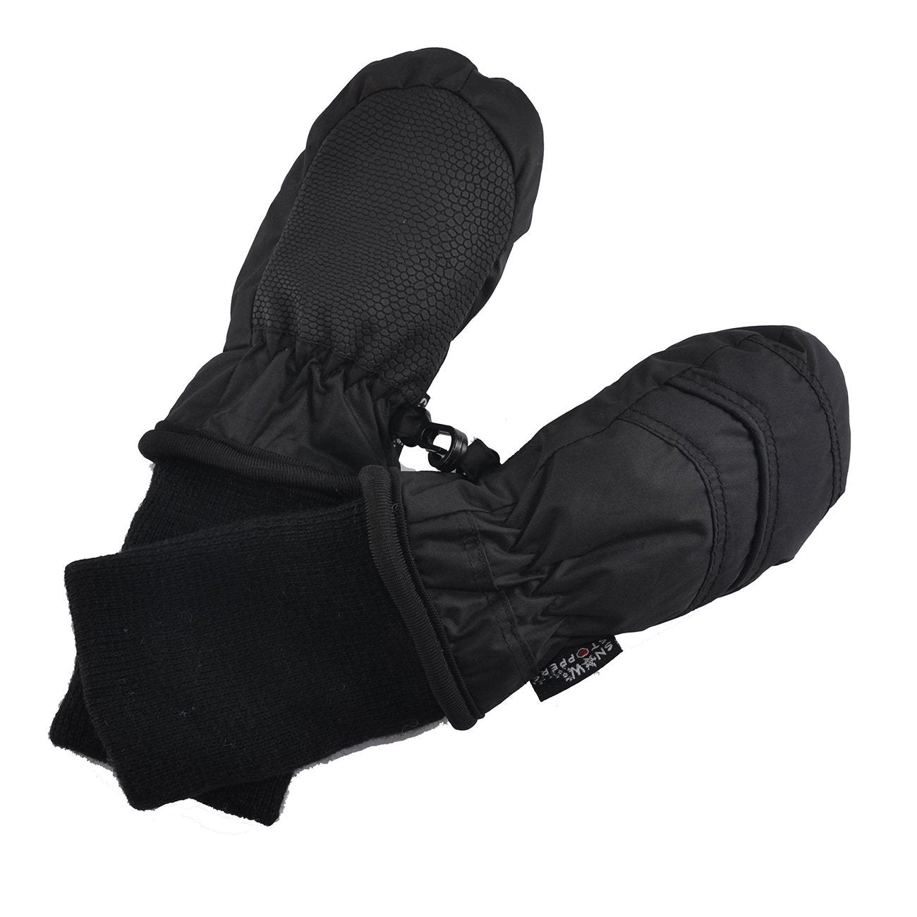 Nylon Mittens - Black