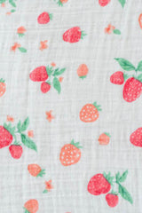 Strawberry Single Swaddle