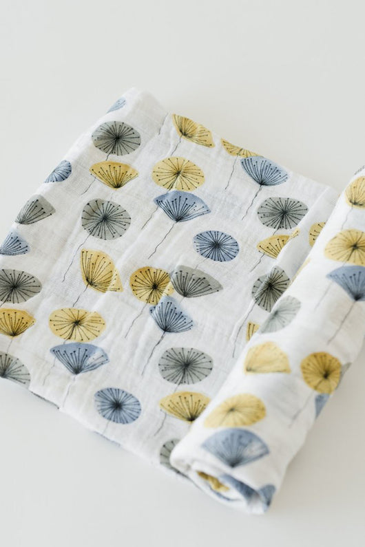 Mod Flower Single Swaddle