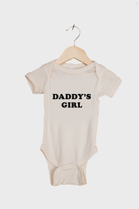 Daddy's Girl Natural Onesie