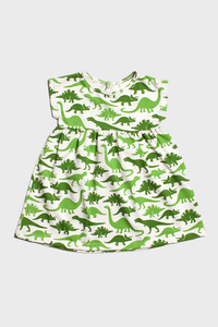 Green Dinosaurs Merano Dress