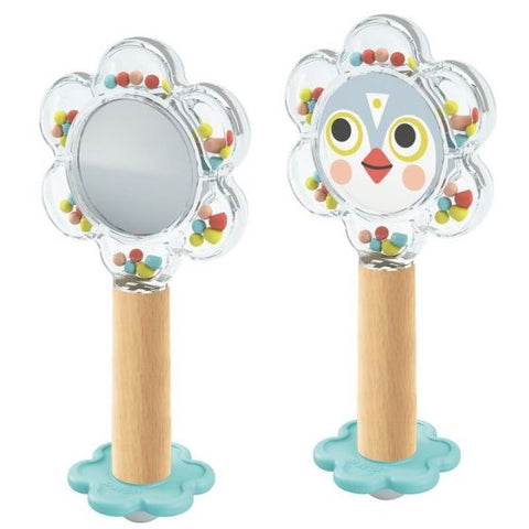 Bird Flower Rattle