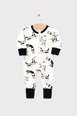 Dogs & Frisbees Romper