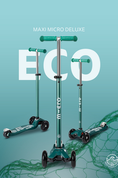 Eco Green Micro Maxi Deluxe Scooter