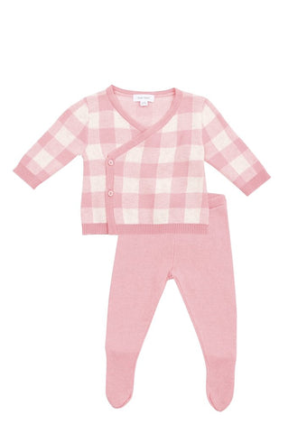 Pink Gingham Take Me Home Set